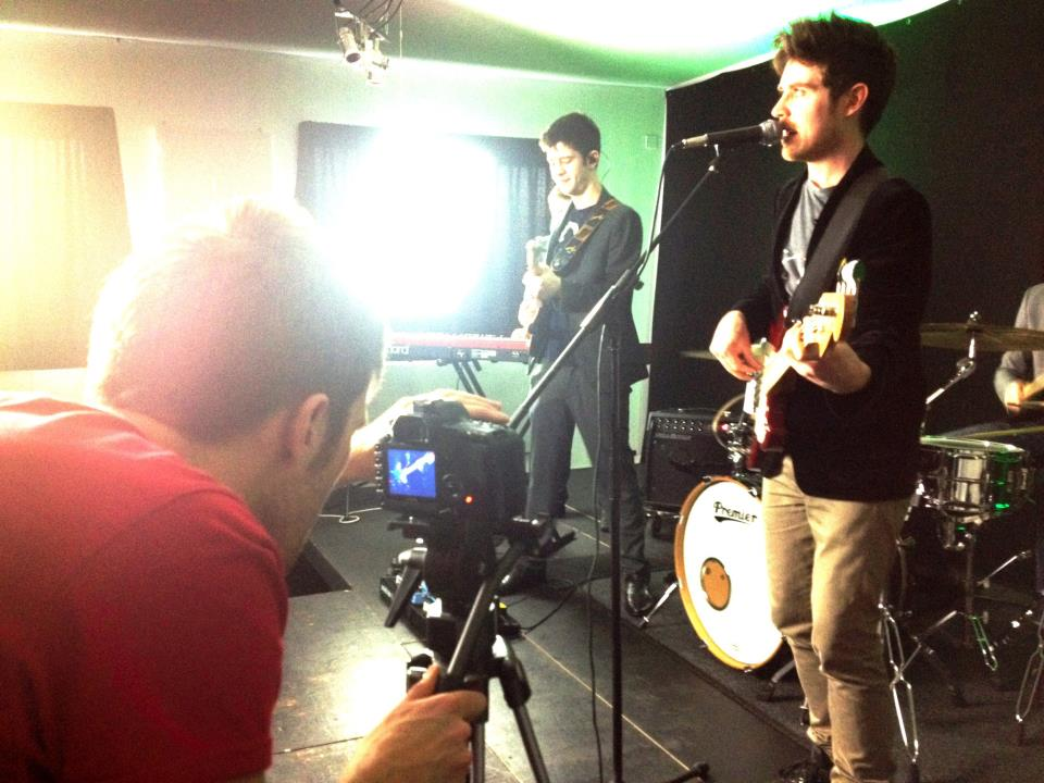 Andy O'Neil - filming for Mess Music Collective